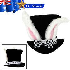Fashion Easter Velvet Cap Plush Pink Rabbit Ears High Top Hat Festival Carnival
