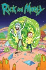 Rick and Morty Animation Art Posters