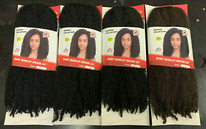 """Baby Marley Braid 14"""" by Kuknus Collection.Flame Retardant. Antiitch Curlsafe"""
