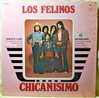 Los Felinos Chicanisimo LP Shrink Strong VG Vinyl Mexican Latin Rock Pop Musart