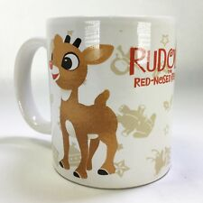 Rudolph The Red Nosed Reindeer Bumble Abominable Snowman Coffee Mug 3 3/4""