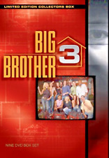 Big Brother - Season 3 - Limited Edition Collectors Box (DVD, 2003, 9-Disc Set)