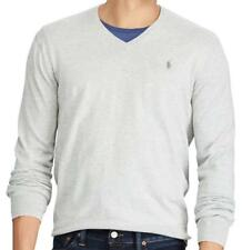 Polo Ralph Lauren ~ Premium Pima Cotton Men's V-Neck Sweater $98 NWT
