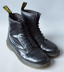 Men's Black Dr. Martens Air Wair 10072 Classic Leather Boots, Size UK 10 EU 45.