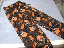 Cleveland Browns PAJAMA PANTS  BOY OR GIRL  KIDS  Size 7 / 6X  NEW $24 NFL