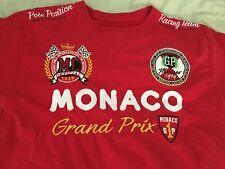 Monaco Grand Prix World Championship Gazzoil 2-sided embroidered Shirt Lrg