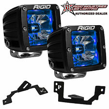 Rigid Radiance LED Fog Light Kit w/Blue Backlight for Dodge Ram 1500 2500 3500
