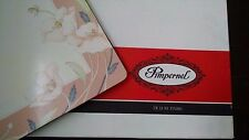 Vtg Pimpernel Placemats Deluxe Finish Cork Nouveau Rose Pink Floral Set of 4