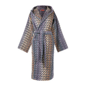 Missoni bathrobe with hood man / woman STEPHEN terry
