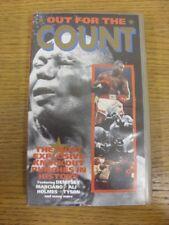 1992: della boxe VHS Video-Out per il conteggio-il più esplosivo Knockout Pugni