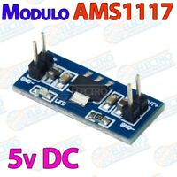 AMS1117 5v DC Modulo alimentacion fija power steep down - Arduino Electronica DI