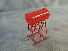 1/64 Custom scratch Farm Red fuel Barrel on stand