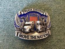 Truck Driver Metal Belt Buckle