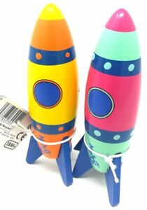 MAJIGG WOODEN ROCKET - WD240 TOY SPACE TODDLER PLAY PRETEND TRADITIONAL FUN