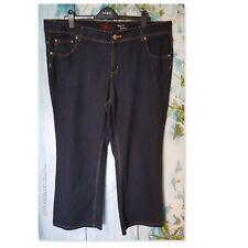 NEW LOOK INSPIRE JEANS PLUS SIZE 22 REG, Indigo Blue Bootcut Hula stretch Jeans
