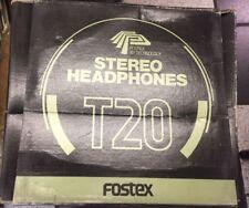 Fostex T20 Professional Studio Headphones RP-SERIES! NEW! RARE! DISCONTINUED!