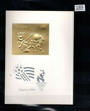 /// GUYANA - MNH - IMPERF - GOLD - OLYMPICS, SOCCER