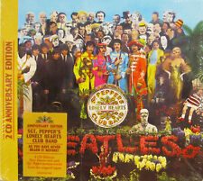 """THE BEATLES """"SGT.PEPPER'S LONELY HEARTS CLUB BAND"""" 2 cd ANNIVERSARY EDITION new"""