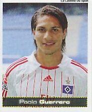 N°247 PAOLO GUERRERO # PERU HAMBURGER.SV STICKER PANINI BUNDESLIGA FUSSBALL 2008