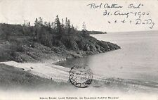 Lake Superior North Shore C.P.R. - Litho - 1905 - Good - Port Arthur Cancel