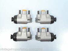 """Front Wheel Cylinders Fits Ford Anglia & Prefect 1954-57 3/4"""" (2 Left & 2 Right)"""