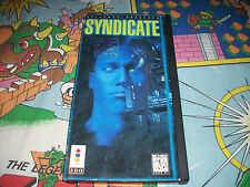 Syndicate Panasonic 3DO Video Game w/ Case Classic