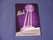 2008 Phoenix Mercury WNBA Basketball Media Guide / 2007 Champions