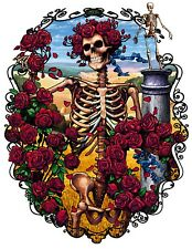 Grateful Dead Iron On Transfer For T-Shirt & Other Light Color Fabrics #5
