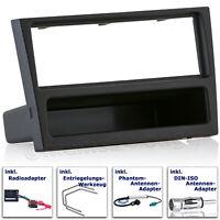 OPEL Meriva Vivaro SUZUKI Ignis Wagon R Radio Blende Einbau Rahmen Adapter MOST
