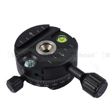 iShoot Panoramic Head for Arca-fit Camera Tripod Ball Head&Quick Release Plate