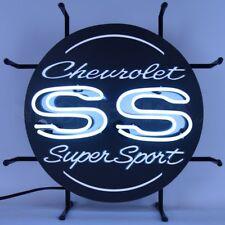 """Chevrolet SS Super Sport Junior Car Garage Banner Neon Sign 17"""" by 17"""""""