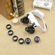 20X 10X 15X 25X Magnifying Magnifier Eye Glass Loupe Jeweler Watch Repair Tool