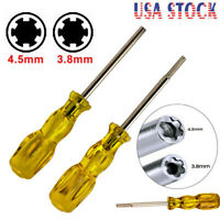 3.8mm&4.5mm Screwdriver Gamebit Security Tool Bit For Nintendo SNES N64 Gamecube