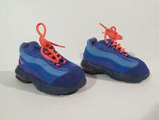 Nike Air Max 95 Toddler Sneakers Shoes sz 4c Royal Blue/Dip Red - 311525-464