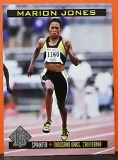 Marion Jones card Sports Illustrated for Kids 15th Anniv Reprint #342