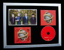 SHINEDOWN+SIGNED+FRAMED+THREAT TO SURVIVAL=100% AUTHENTIC+EXPRESS GLOBAL SHIP
