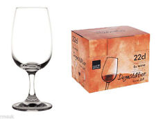 Box of 6 Royal Leerdam Bar Crystal Tasting Wine Glass Capacity: 7.75oz  220ml