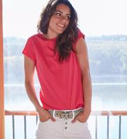 UNIVERSAL THREAD WOMEN'S SHORT SLEEVE T-SHIRT FOCUSED PINK XL - NEW W/ TAGS