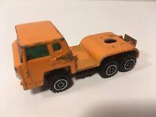 Vintage Yatming HO Scale Orange COE Ford Semi Truck Diecast HTF