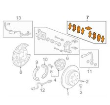 🔥 Genuine OEM Rear Brake Pad Set for Honda Pilot 09-11 43022-SZA-A01 🔥
