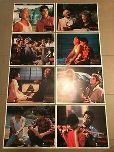 Original Lobby Card Set (8) 11x14: The Kirate Kid 2 (1986) Pat Morita