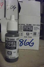 modello Hobby Pittura 17ml BOTTIGLIA val866 AV Vallejo Color - grigio verde