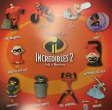 McDonalds 2018 INCREDIBLES 2 - Complete Set