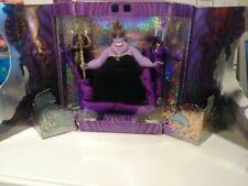 Disney's The Little Mermaid Sea Witch Ursula Doll Great Villians Collection NIB