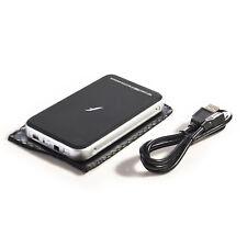 "Frisby External Drive Case 2.5"" SATA HDD Hard Disk Aluminum Enclosure USB w/ Bag"