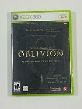 The Elder Scrolls IV: Oblivion - Game of the Year Edition Xbox 360 Manual & Map