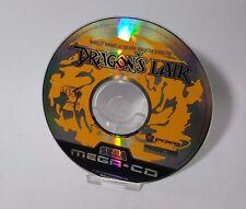La guarida de dragón/dragones juego de Sega Mega CD PAL disco solamente megadrive
