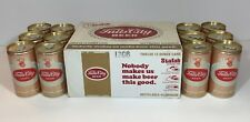 FALLS CITY BEER CARDBOARD STAY TAB  INSTRUCTION CASE CARRIER 12 EMPTY CANS 1975
