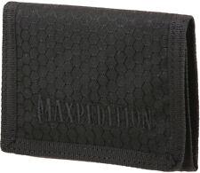 New Maxpedition AGR TFW Tri Fold Wallet Black TFWBLK