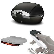 Kit fijacion y maleta baul trasero + luz de freno regalo SH45 compatible con YA